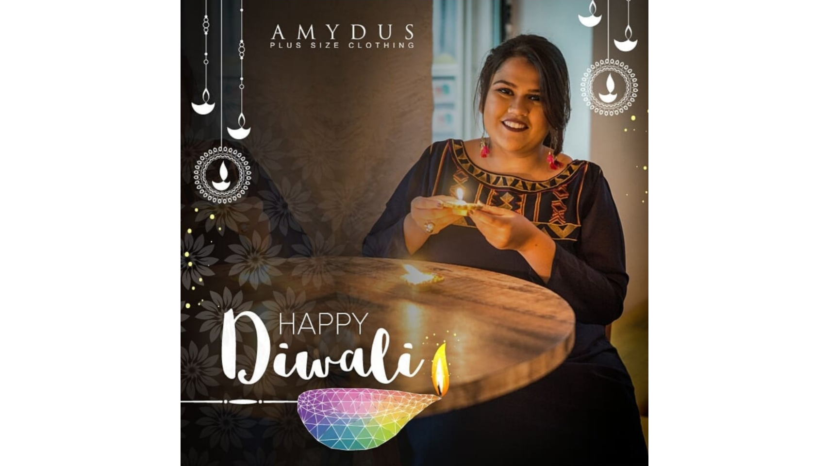 Keeping It Subtle This Diwali ft. AMYDUS image
