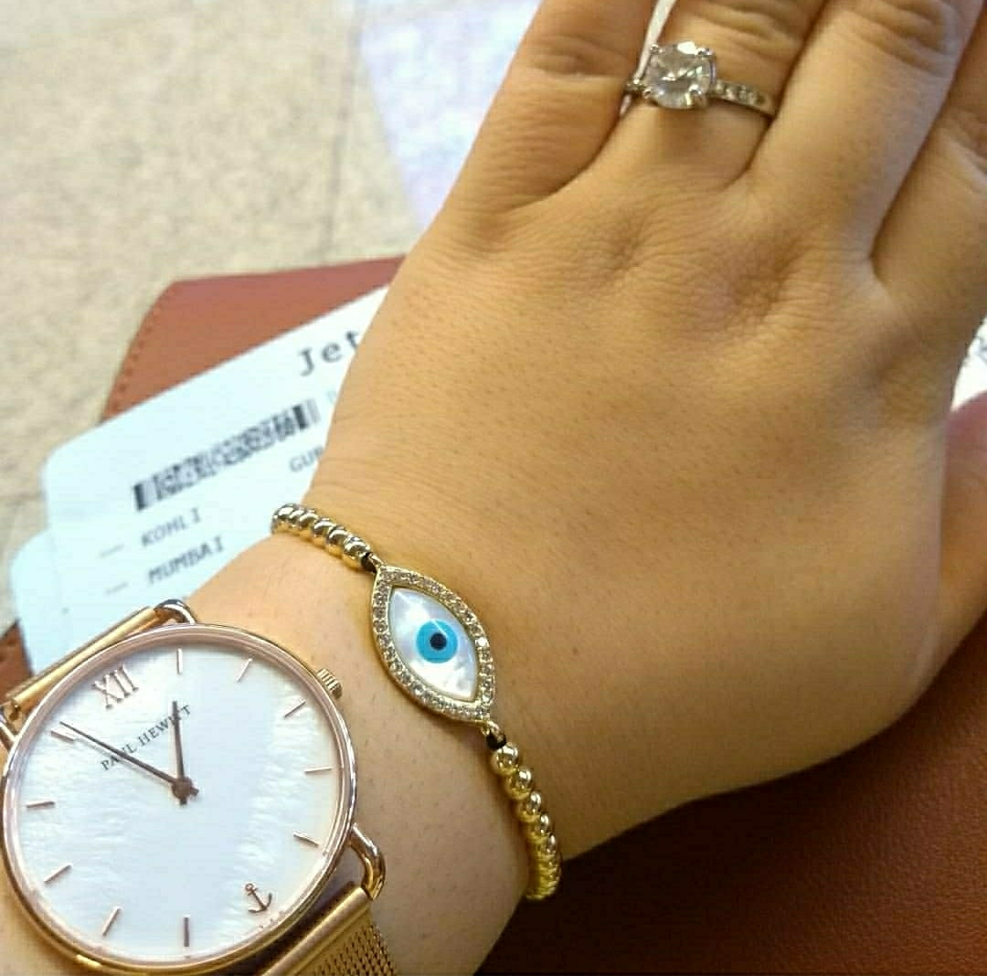 Travel in style with evil eye bracelet  image