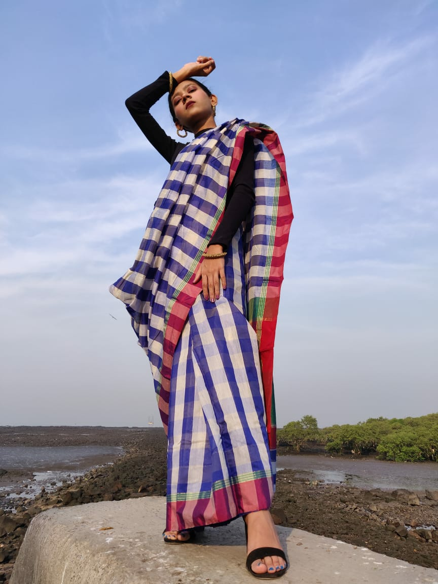 Unnati silks-Sareelookbook image
