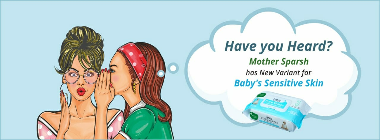 Mother Sparsh has launched New Unscented 99% Premium Water Wipes with Moisture Lock Lid.                       image