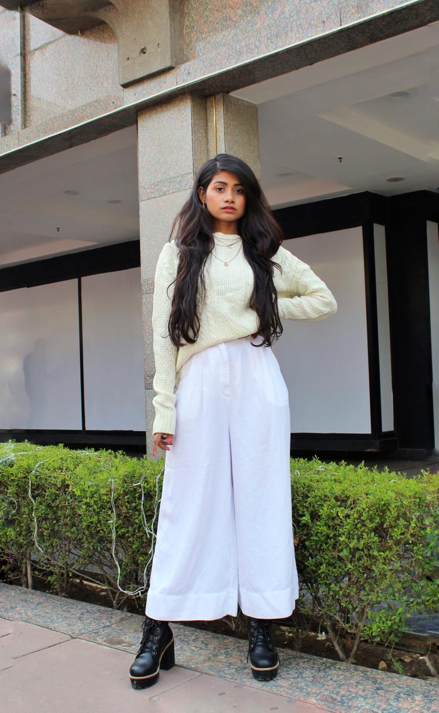 Beautsfashion-Style Your Basic White Sweater