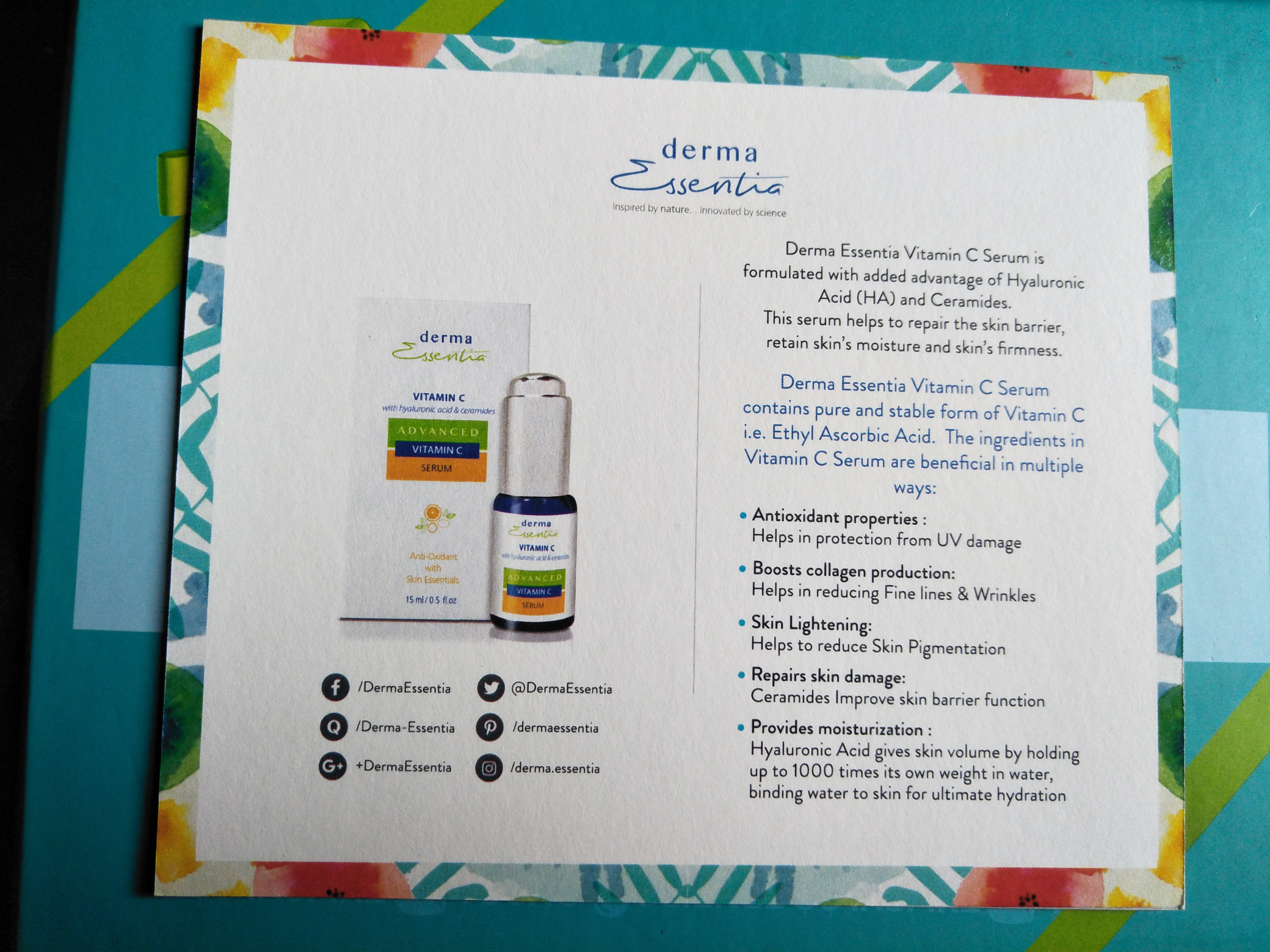 That Lucknow Girl-Review ft.Derma Essentia
