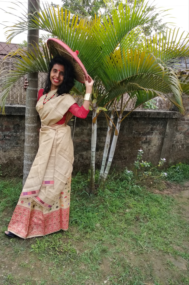 allboutfashion-An ethnic style with the traditional attire of Assam