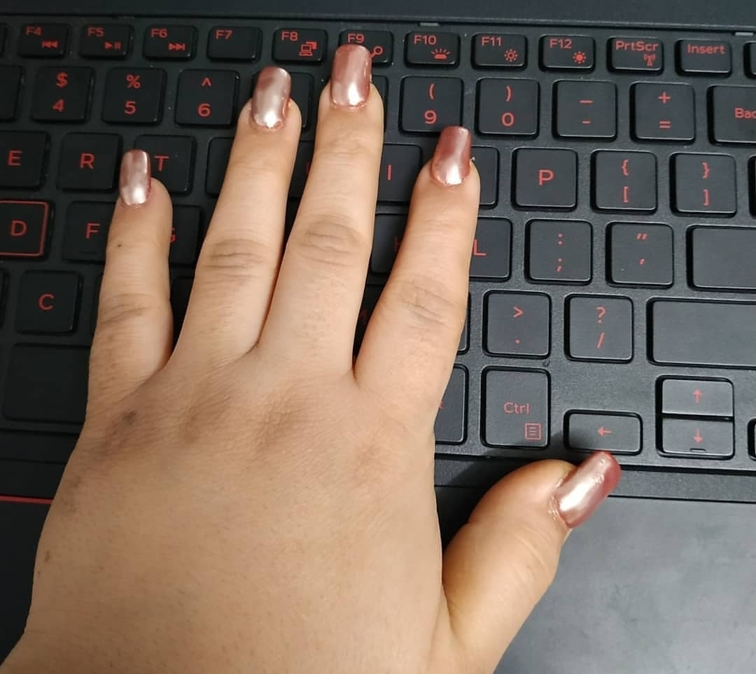 undefined-Chrome Nails a new trend.....