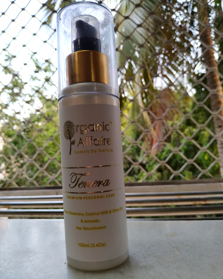 undefined-Tenera hair serum from Organic Affair....