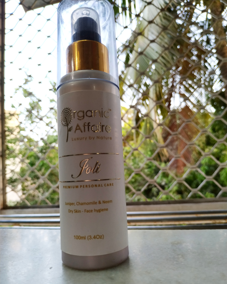 undefined-Joli Face wash from Organic Affair.......