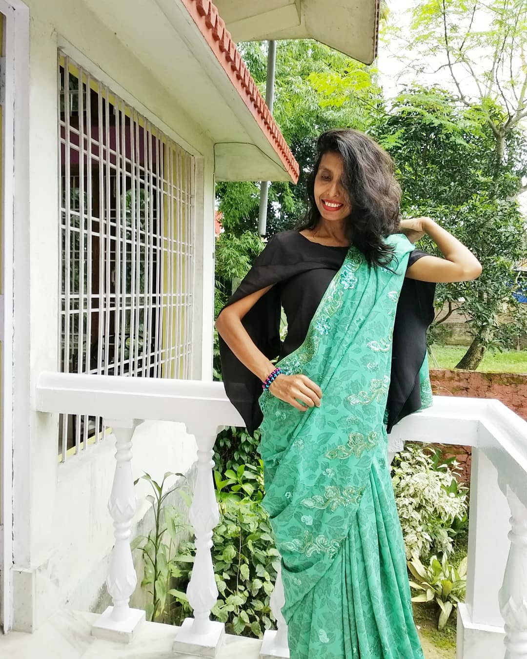 Saree fashion image