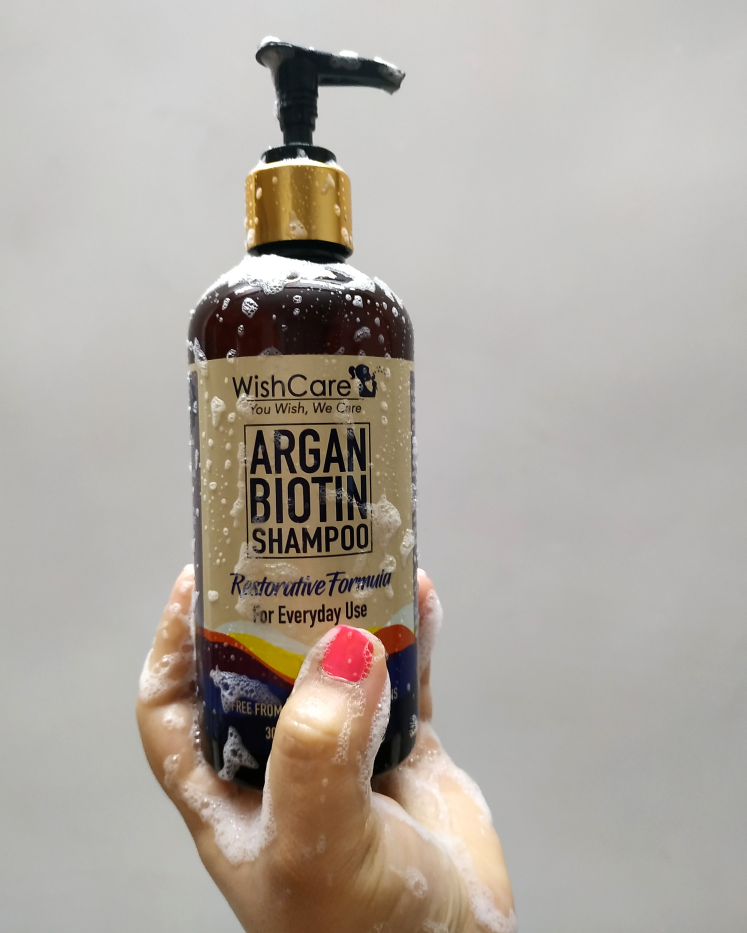 undefined-Argan biotin shampoo perfect shampoo for coloured hair.....