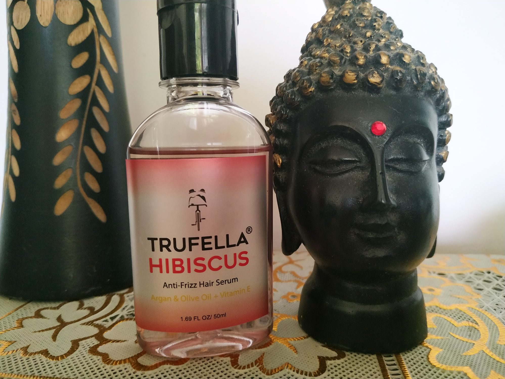 Trufella Anti-frizz hair serum review after one month of use......  image