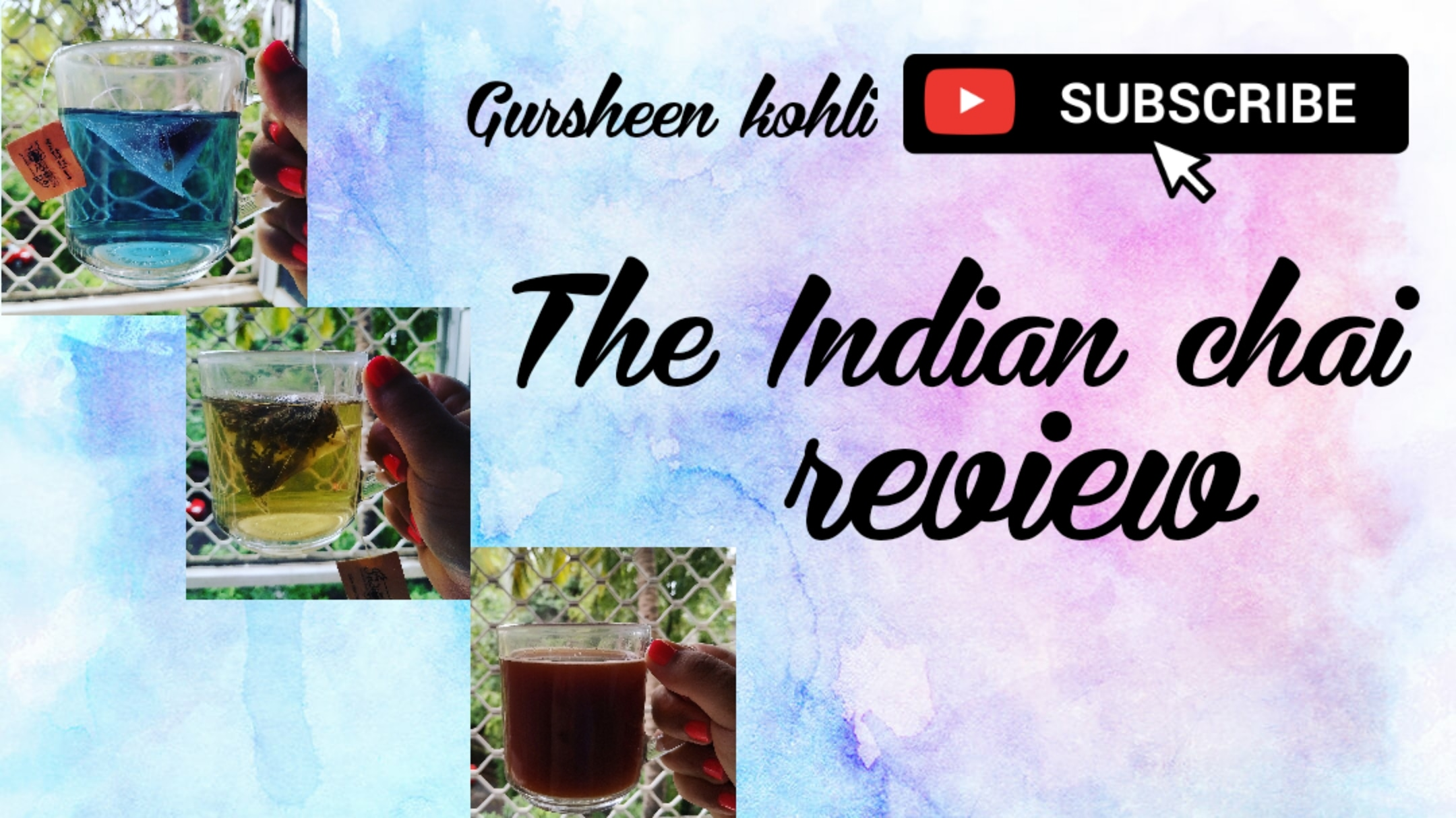 The indian chai review....  image
