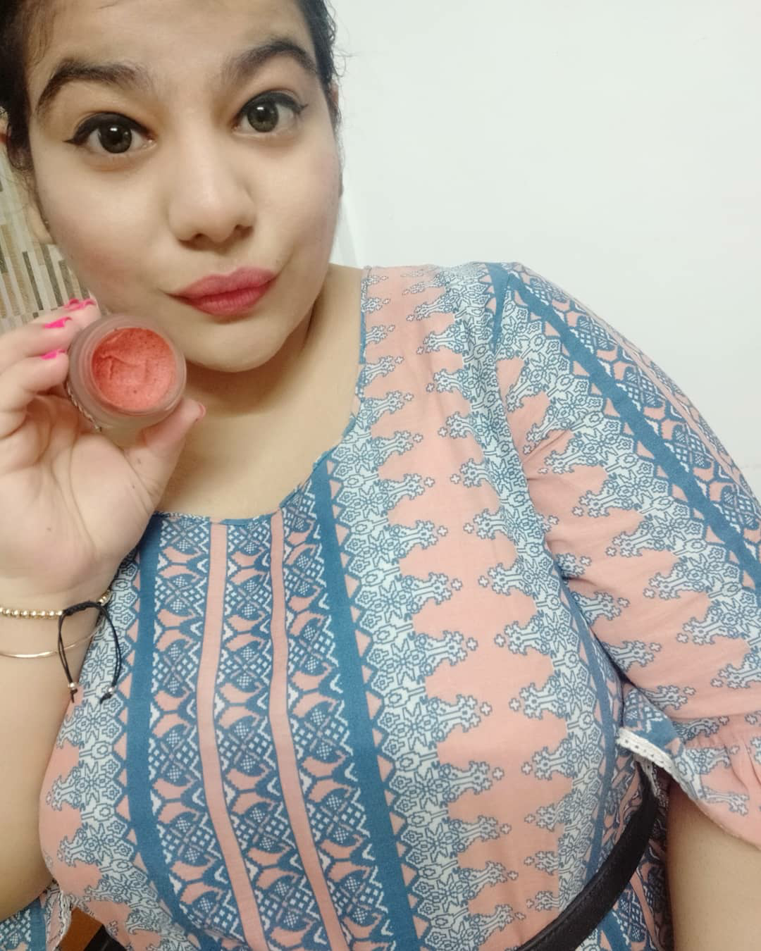 undefined-Lip scrub which worked Amazing on my lips.....