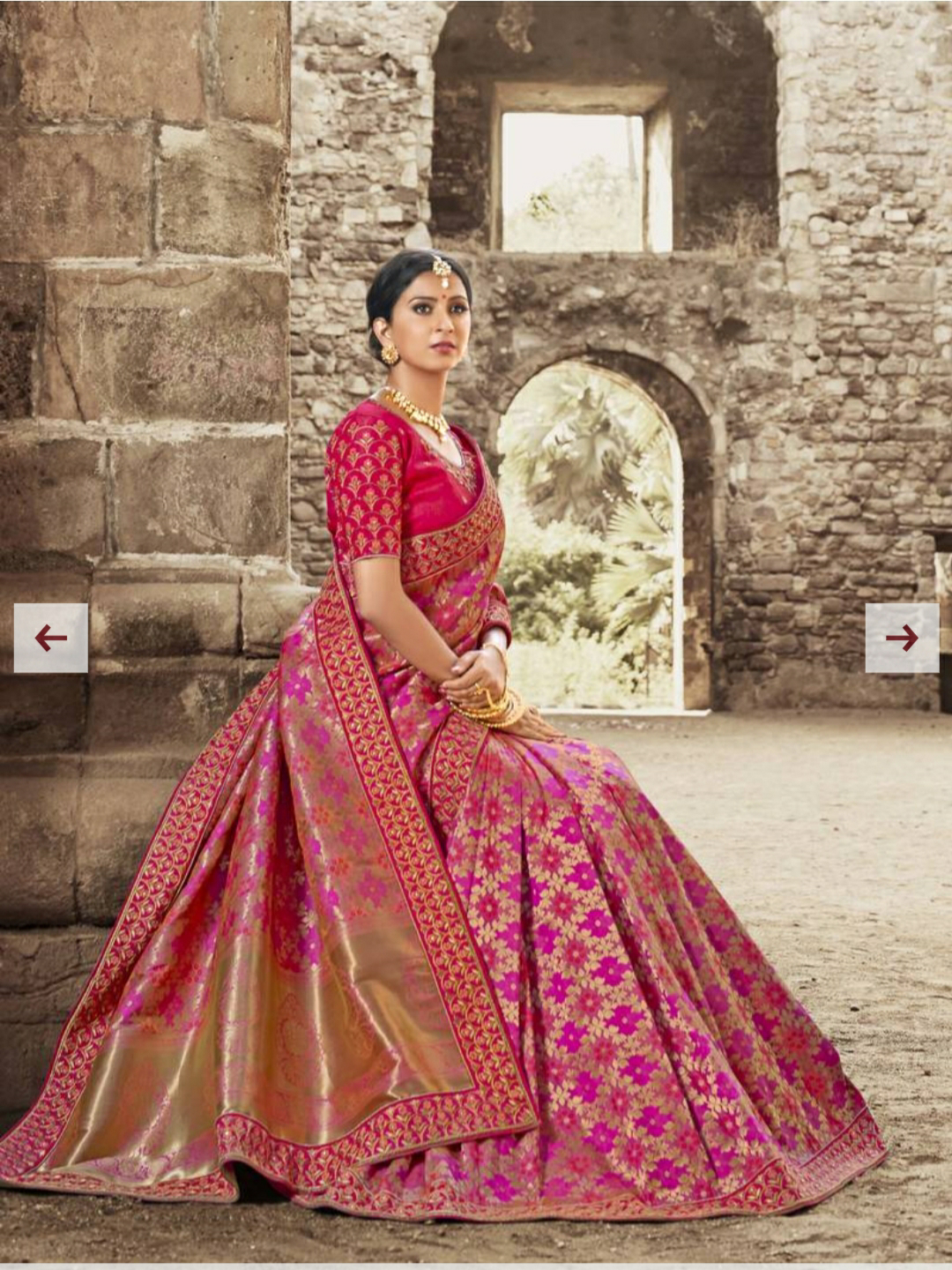 MIRRAW-  WHERE ONE CAN GET ALL TRADITIONAL INDIAN CLOTHING LIKE SAREES, SALWAR SUITS, LEHENGA,SHERWANI AND MORE ON ONE PLACE image
