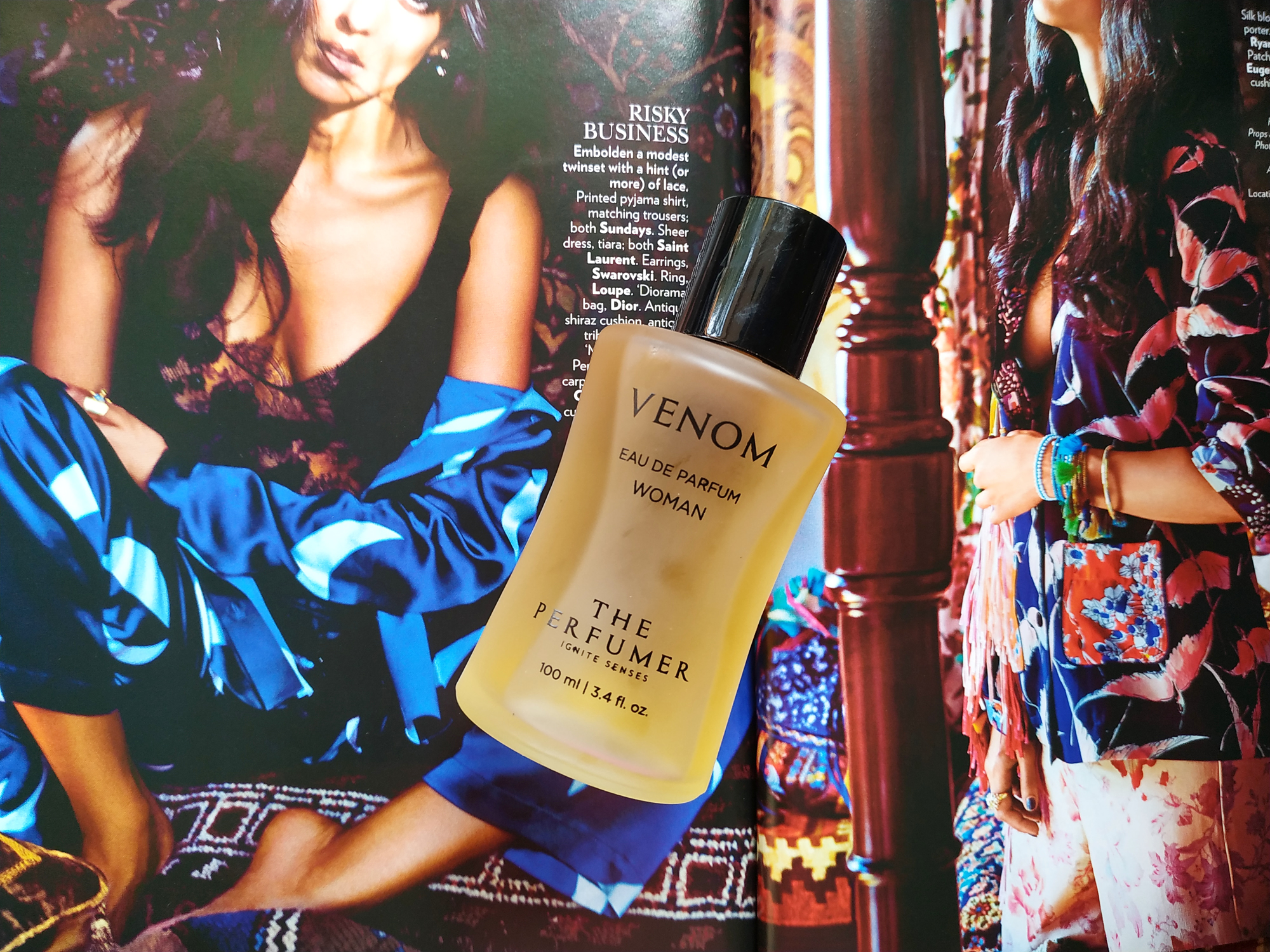 Venom body perfume review..  image