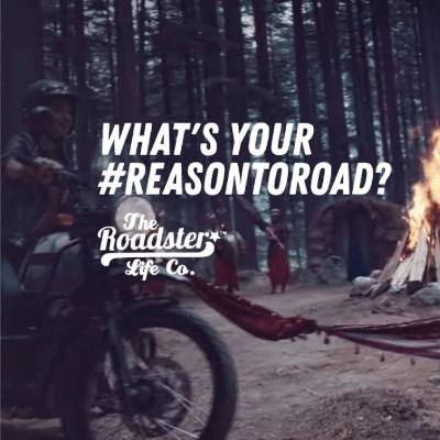 Roadster collaboration with Winkl for their 'ReasonToRoad' influencer marketing campaign