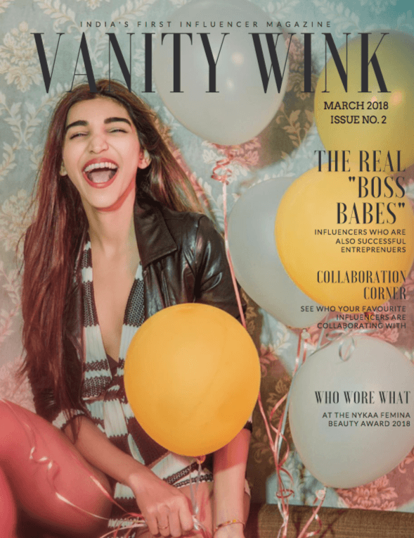 Vanity Wink by Winkl - newspaper, encyclopedia and gossip column related to the influencer world. Issue 2